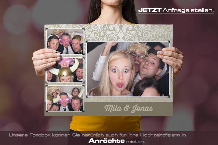 Mieten Sie eine Fotobox für Ihre Hochzeitsfeier in Anröchte