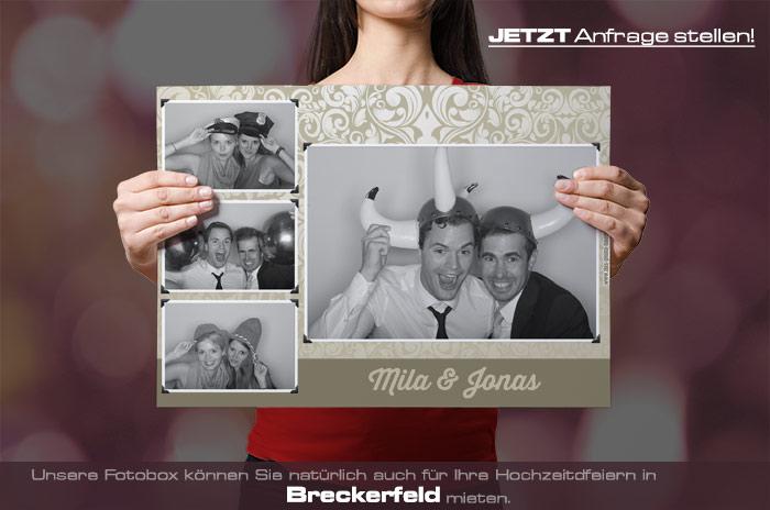 , Fotobox für Hochzeit in Breckerfeld mieten