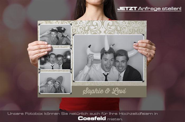 , Heiraten in Coesfeld – dann mieten Sie sich eine Fotobox