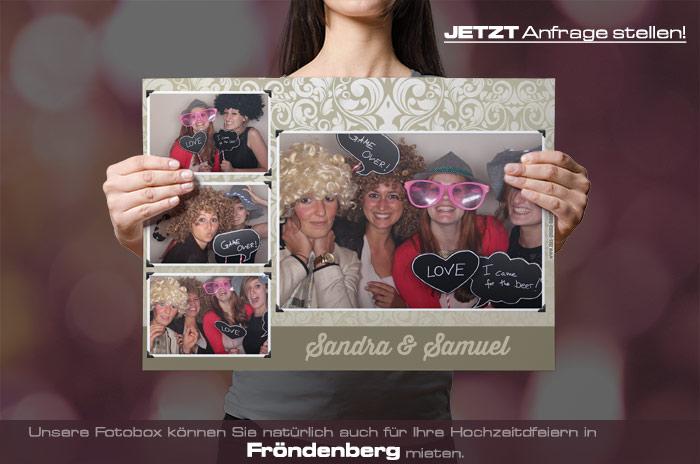 , Heiraten in Fröndenberg – dann mieten Sie sich eine Fotobox