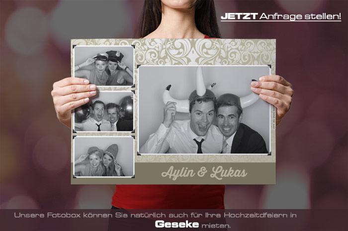 , Mieten Sie eine Fotobox für Ihre Hochzeit in Geseke