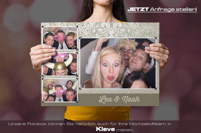 Wir vermieten eine Fotobox für Ihre Hochzeitsfeier in Kleve