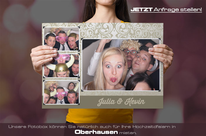 Mieten Sie Eine Fotobox Fur Ihre Hochzeit In Oberhausen