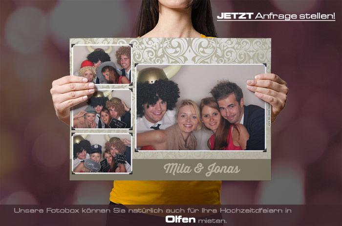 , Fotobox für Hochzeit in Olfen mieten