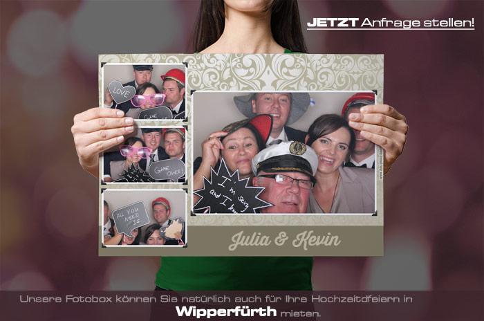 Mieten Sie eine Fotobox für Ihre Hochzeitsfeier in Wipperfürth