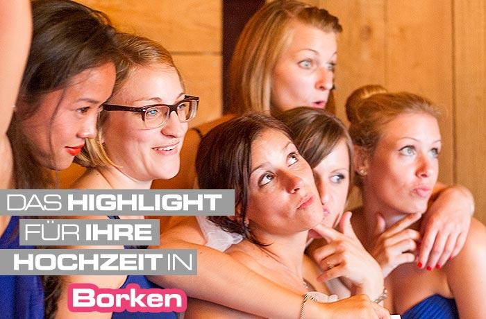 Mieten Sie für Ihre Hochzeit in Borken ein Photobooth