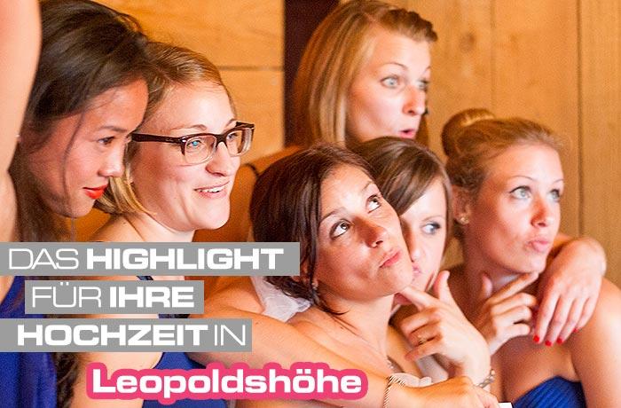 Mieten Sie für Ihre Hochzeit in Leopoldshöhe unser Photo Booth